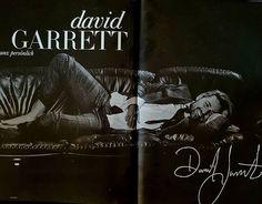 David Garrett in the newest issue of Cocoon Magazine. Photo by Margaretha Olschewski  #davidgarrett #violin #violinist #photoshooting