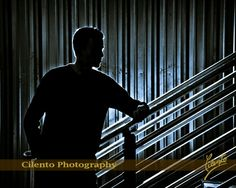 Lighting effects can take your senior portraits up several notches. (Think album cover art)