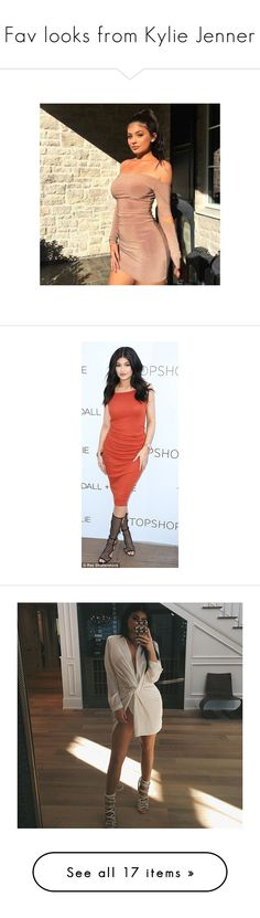 """""""Fav looks from Kylie Jenner"""" by julianaimp ❤ liked on Polyvore featuring KylieJenner, kylie, kylie jenner, accessories, people and outfits"""