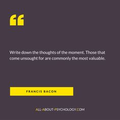 Classic quote from eminent polymath and celebrated thinker Francis Bacon who was born on this day in 1561. Visit http://www.all-about-psychology.com/ for free psychology information and resources. #psychology