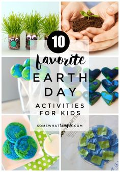 Celebrate and beautify the beautiful place we live with these favorite Earth Day Activities for Kids!