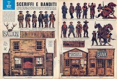 Corrierino e Giornalino: Sceriffi e banditi