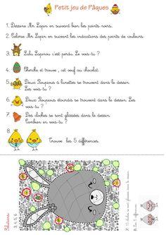Atelier math matique jeu p ques p ques pinterest - Jeux de coloriage de paques ...