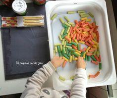 macarrones de colores