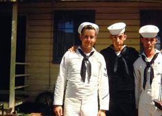 Kodachrome-1940s-50s via memories65.tumblr Family Album, Sailors, Vintage Colors, Soldiers, 1940s, Navy, Retro, Ideas, Hale Navy