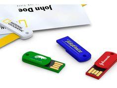 Clip-it USB 2.0 Flash Drive 128MB to 64GB Grade A chip MOQ: 25pcs PMS color logo printing