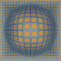 Domb-B - (Victor Vasarely)