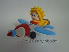 Tubete Avião com Pequeno Príncipe