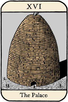 """Tarot card: """"The Tower"""""""