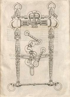 Horse Bits. 16th century