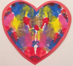 The Chocolate Muffin Tree: Heart Blotto Valentines