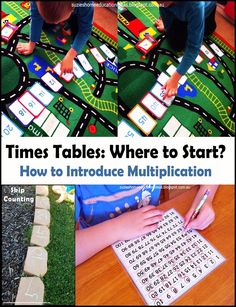 Suzie's Home Education Ideas: Times Tables: Where to start?