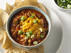 Chunky salsa adds the flavor punch to so-good, slow-cooked chili.