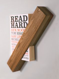 Single serve book shelf