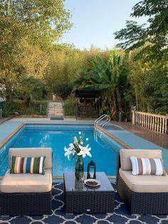 Garden Furniture, Outdoor Furniture, Outdoor Decor, Beige Cushions, Outdoor Sectional, Sofa Set, Villa, Patio, Home Decor
