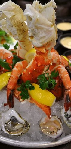 Crab and Shrimp Cocktail