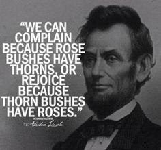 I feel you Abe.
