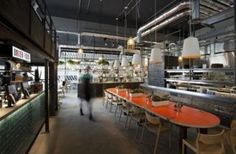DF Mexico - A cross between Nando's, an American diner and a Mexican food truck serving dishes created by a former Masterchef winner.