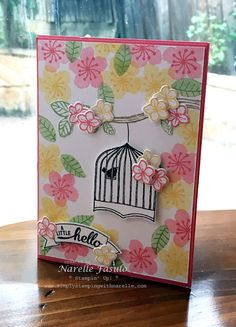 Badges and Banners - Best Birds - Botanical Blooms - Narelle Fasulo - Simply Stamping with Narelle - avaiable here - http://www3.stampinup.com/ECWeb/default.aspx?dbwsdemoid=4008228