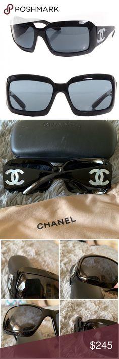 74ec015d2ad26 CHANEL mother of pearl cc sunglasses Authentic CHANEL Mother of Pearl CC Sunglasses  5076-H