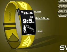 """Check out new work on my @Behance portfolio: """"smartwatch"""" http://on.be.net/1LY7T12"""