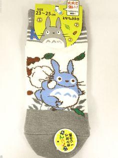 My Neighbor Totoro fukusuke Socks 1pair 23 -25 cm Official women's JAPAN 10