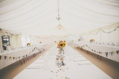 Camping Hockey Field Wedding Marquee http://www.milliebenbowphotography.com/