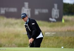 Robert Streb of the United States chips to the 17th green during the second round of the 144th Open Championship at The Old Course on July 17, 2015 in St Andrews, Scotland.