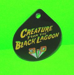 Bally Original 1992 NOS PINBALL MACHINE Keychain Creature From Black Lagoon  #Bally #PinballPromo