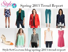 Easy Trends to Try This Spring! The Spring 2013 Trend Report: StyleSetGo.com/blog/spring-2013-trend-report