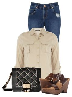 """""""Untitled #17481"""" by nanette-253 ❤ liked on Polyvore featuring Oasis, Dorothy Perkins, Betsey Johnson and Lauren Ralph Lauren"""