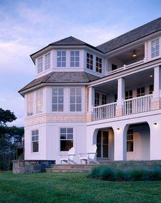 House at Harding Shores. Polhemus Savery DaSilva, Boston architects & building designers, MA. Brian Vanden Brink photo.