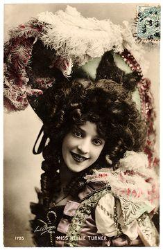 Boudoir Cards - Belle Epoque Postcards - Belle Epoque Hat Fashion