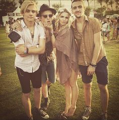 Rydel Lynch, rocky lynch, ross lynch. Coachella