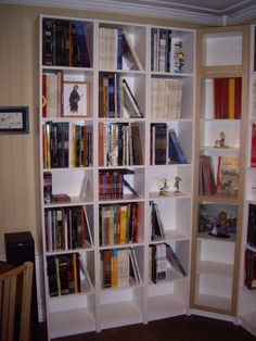 a made to measure kallax corner bookcase furniture possibilities pinterest kallax shelf. Black Bedroom Furniture Sets. Home Design Ideas