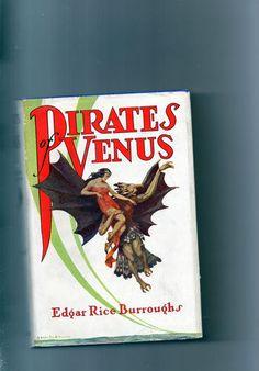 Pirates of Venus Edgar Rice Burroughs First Edition
