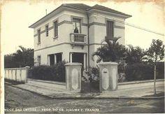 Residência do dr. Djalma Pinheiro Franco. Mogi das Cruzes - SP. Década de 30