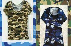 Tampil Army Look Menggunakan Baju Bermotif Kamuflase Ini Hanya Rp.42,900 - www.evoucher.co.id #Promo #Diskon #Jual  Klik > http://evoucher.co.id/deal/Kaos-Army-Look  Untuk kamu ladies yang suka berpenampilan army look, kamu dapat menggunakan pakaian bermotif army look sesuai dengan warna kamuflase yang kamu inginkan.  pengiriman mulai 2014-07-08