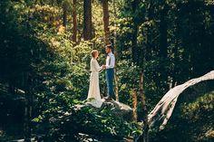 Mariage dans la foret shooting inspiration La Cerf des Confidences - photo…