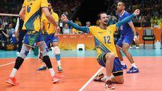 ESPORTE: Seleção do Brasil de voley está na final da Rio 20...