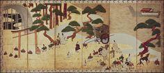 """Tale of Genji, The"": ""Genji monogatari: 'Miotsukushi'""by Sōtatsu"