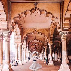 AGRA, INDIA. #Agra - #India Credit: @pankratova916  Via: @indian.vacations