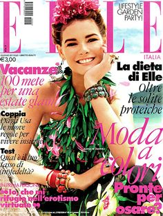 Elle Italia - June 2011 - Flavia de Oliveira
