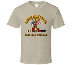 ARNG - Iraq War Veteran - Tan via Military Insignia Clothing and Products. Click on the image to see more!