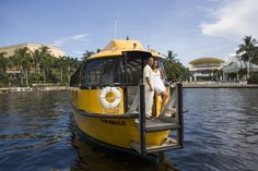 Enjoy a leisurely cruise along Fort Lauderdale's world famous waterways. Go to the beach, shop and dine on Las Olas Blvd, and see the cruise ships at Port Everglades, while passing mansions and mega-yachts along the way. Your ticket allows unlimited boardings from any stops in Fort Lauderdale and Hollywood. 10am-midnight. (954) 467-0008.