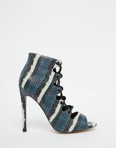 Image 2 of ASOS PIA Lace Up High Heels