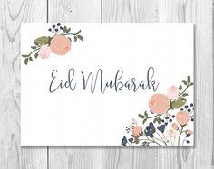 9 best eid mubarak card images on pinterest eid mubarak card eid printable eid mubarak card eid greeting card happy eid islamic cards muslim cards islamic greetings instant download m4hsunfo