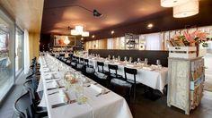Hafenrestaurant Zug :: WedMap Restaurant, Conference Room, Contemporary, Table, Furniture, Home Decor, Zug, Decoration Home, Room Decor