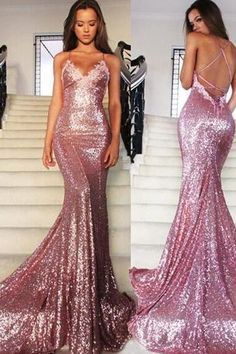 Sexy Prom Dress,Prom Dresses,Prom Dress,Sequined Prom Dresses,Chiffon Prom Dress,Sexy Dress,Charming Prom Dress,A Line Formal Dress,Sequin Prom Gown For Teens
