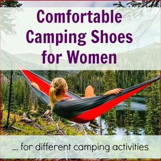 camping shoes for women